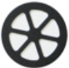 Black and white HDPE