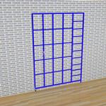 3 Gate Steel Foldaway Climbing Frame - Gate design No.3 Window
