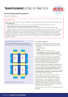 Trampolining Code of Practice