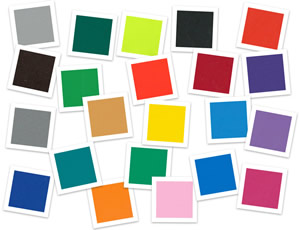 PVC colour range from Continental Sports