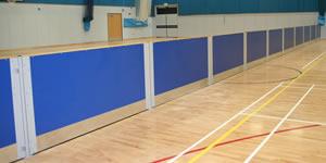 Rebound screens - blue