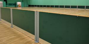 Rebound screens - green