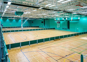 Continental Sports rebound screens at Nottingham University