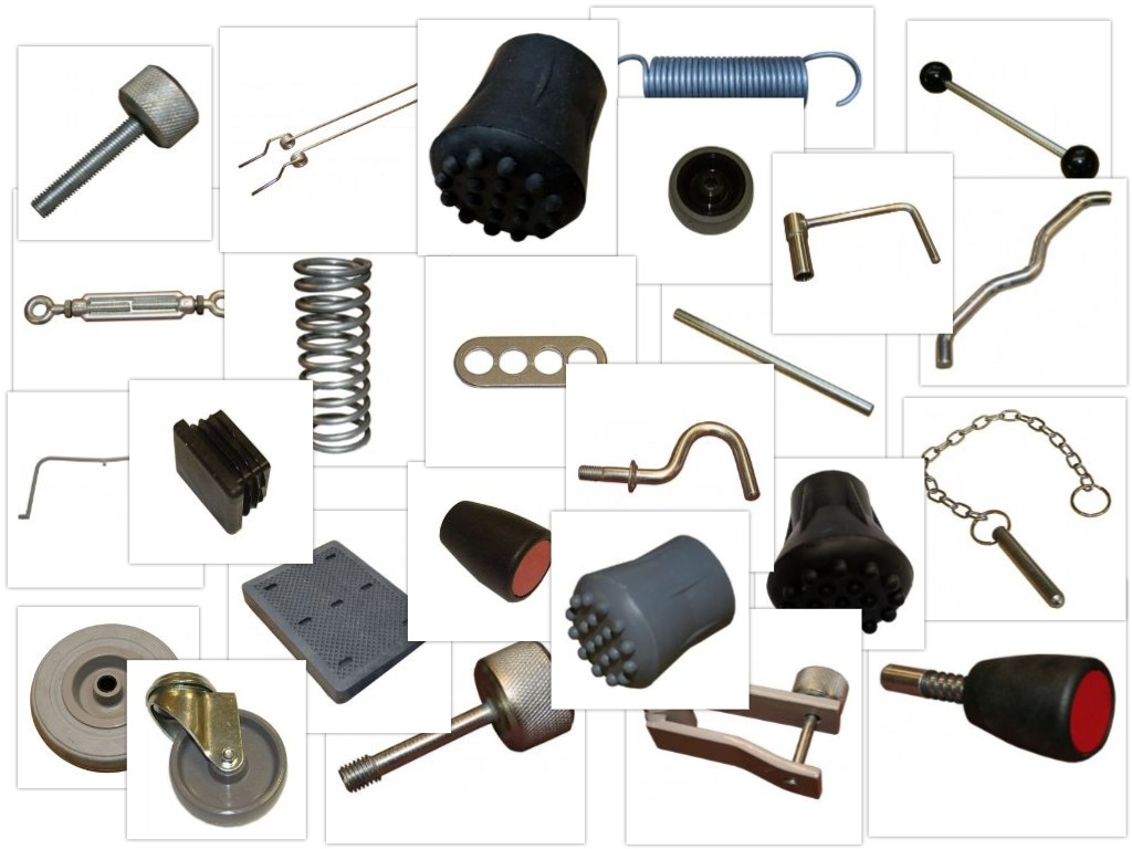 PE and sports equipment spare parts